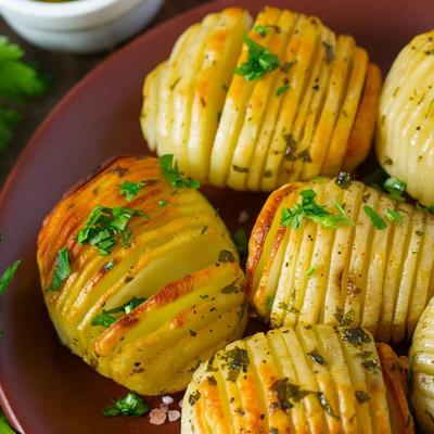 Картофель, запечённый на мангале.<br>200 гр.